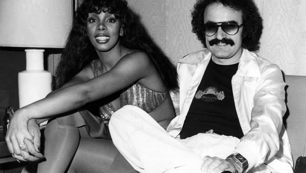 Giorgio Moroder und Donna Summer