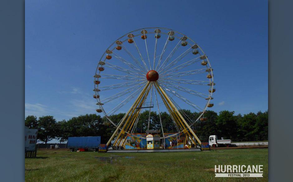 Festival mit Riesenrad