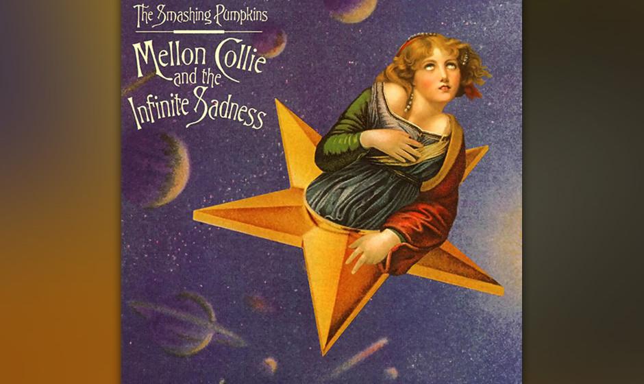 38. Beautiful ('Mellon Collie And The Infinite Sadness', 1995). Love-Song von naiver Schönheit, versteckt im hinteren Ende v
