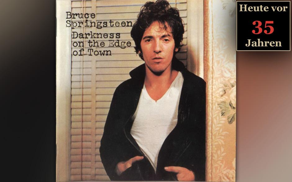 02. Juni 1978: Bruce Springsteen veröffentlicht 'Darkness On The Edge Of Town'