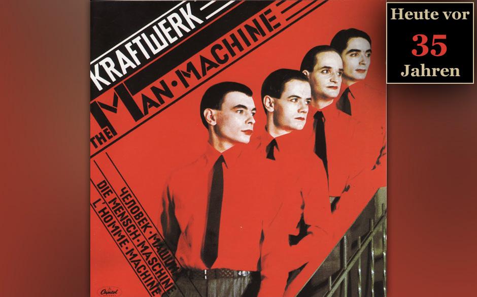 28. Mai 1978: Kraftwerk veröffentlichen 'Die Mensch-Maschine'