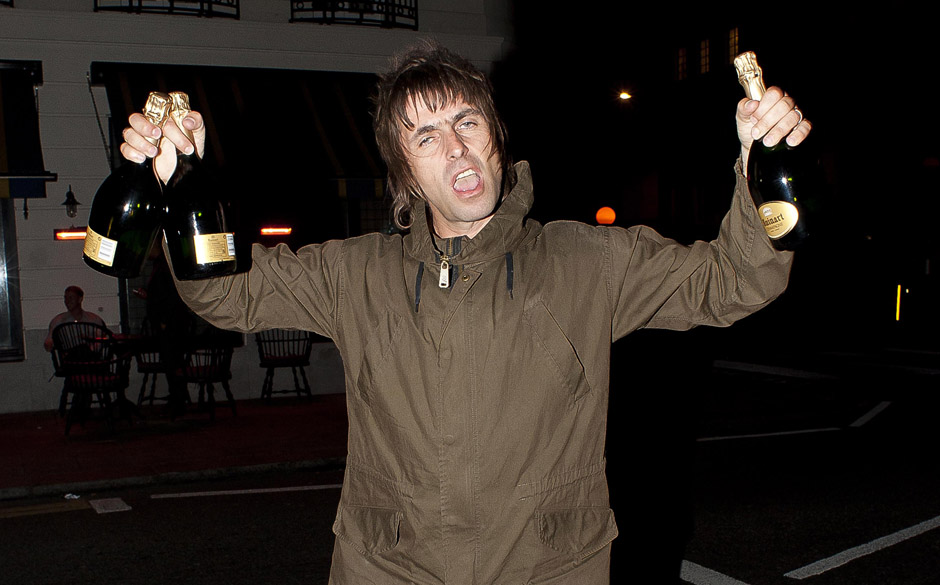 LONDON, UNITED KINGDOM - MARCH 31: Liam Gallagher sighting on March 31, 2013 in London, England. (Photo by Niki Nikolova/Film