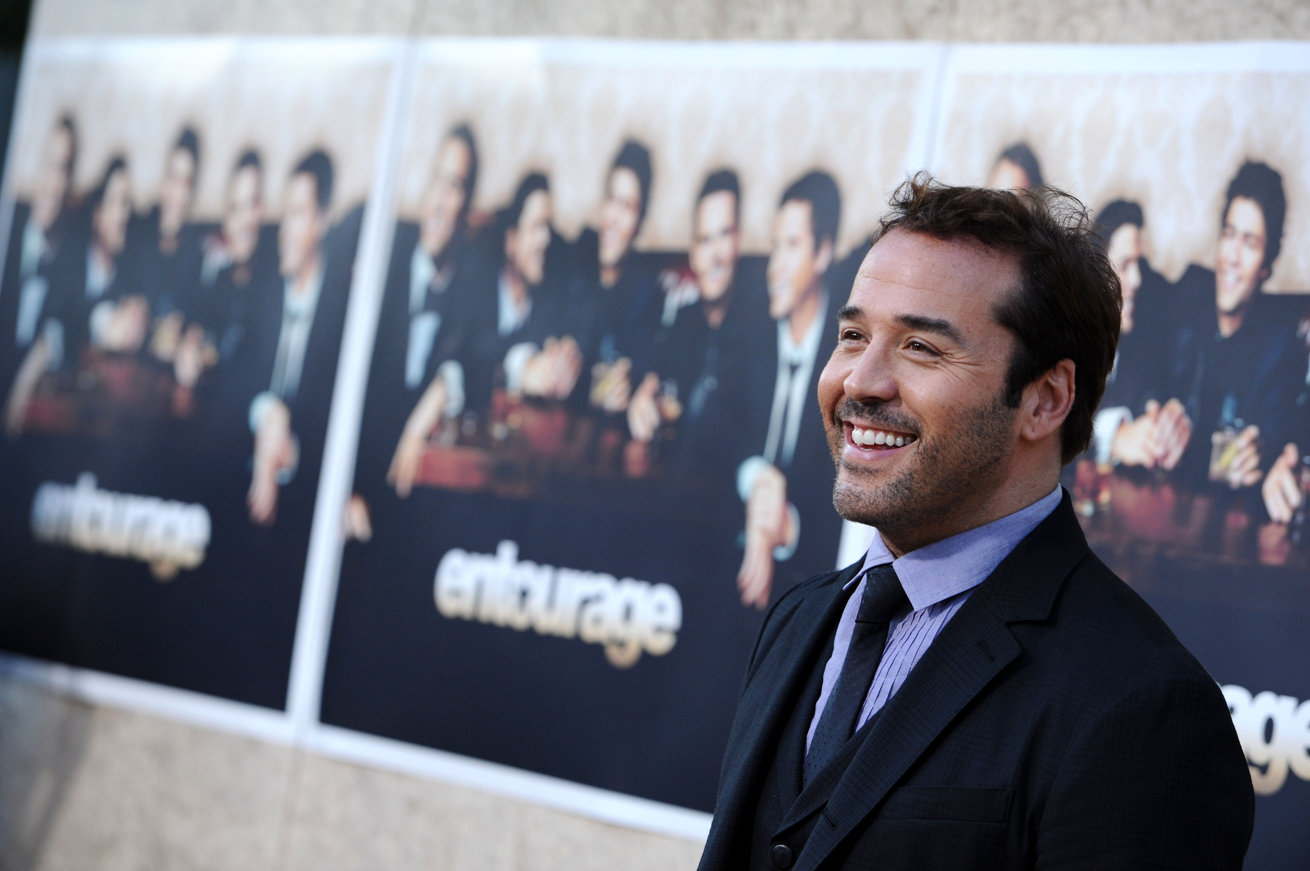 Jeremy Piven attends HBO's 'Entourage' season 6 premiere held at the Paramount Pictures Studios. Los Angeles, July 9, 2009. P