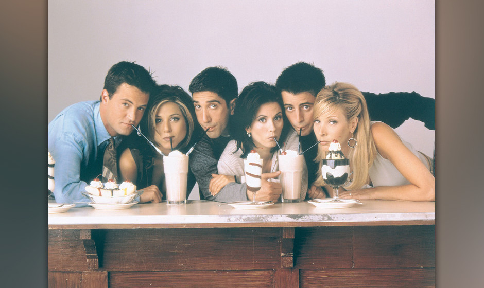 Jun 10, 2002; New York, NY, USA; Cast from the hit comedy sitcom 'Friends.' Mandatory Credit: Photo by Warner Bros. Televisio