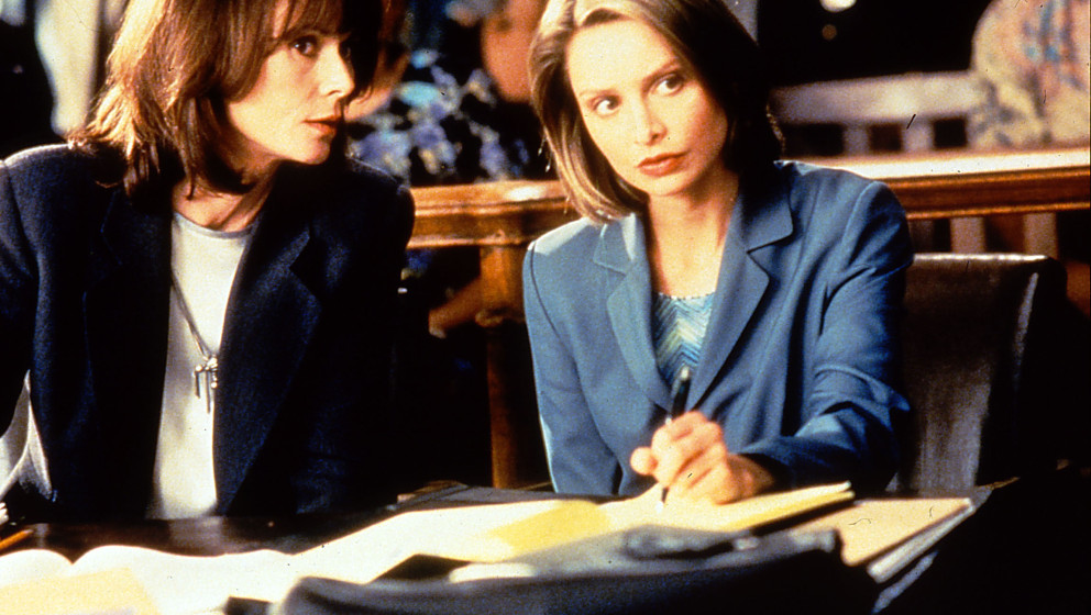 ALLY MCBEAL [US 1997 - 2002]  CALISTA FLOCKHART right     Date:  (Mary Evans Picture Library) Keine Weitergabe an Drittverwer