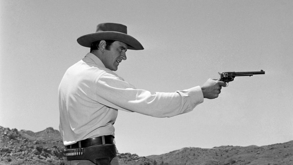 31. Rauchende Colts - Matt Dillon (James Arness)  Im Juni starb der US-Schauspieler James Arness. James wer? Genau: Arness wa