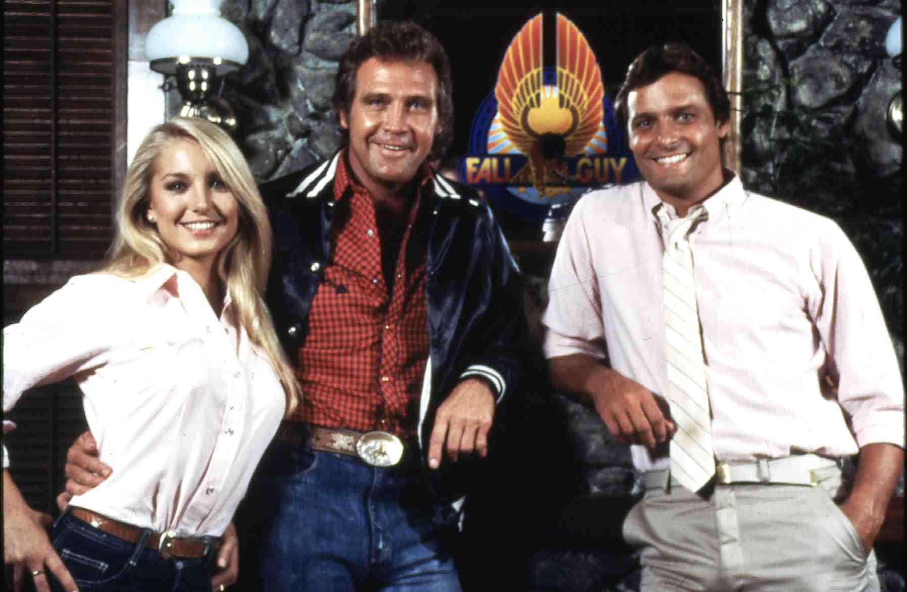 Fall Guy, The  (1981) Jody (Heather Thomas),  Colt Seavers (Lee Majors),  Howie (Douglas Barr) Regie: Russ Mayberry , 20th Ce