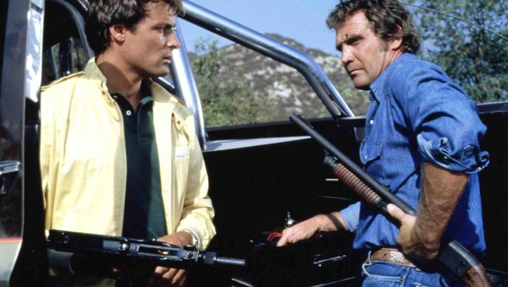 Fall Guy, The  (1981) Howie (Douglas Barr), Colt Seavers (Lee Majors) Regie: Russ Mayberry , 20th Century Fox