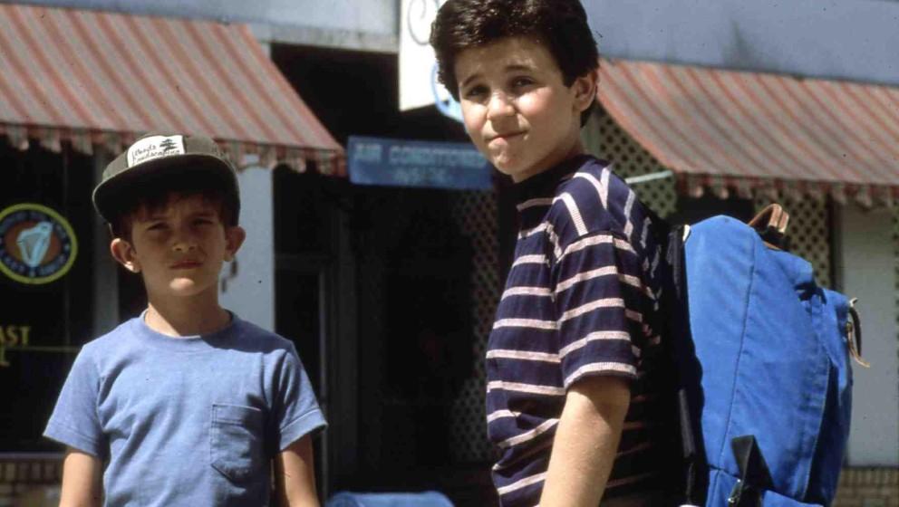 Wizard, The  (1989) Luke Edwards, Fred Savage Corey (F. Savage) will seinem Halbbruder Jimmy (L. Edwards, l) seinen Herzenswu