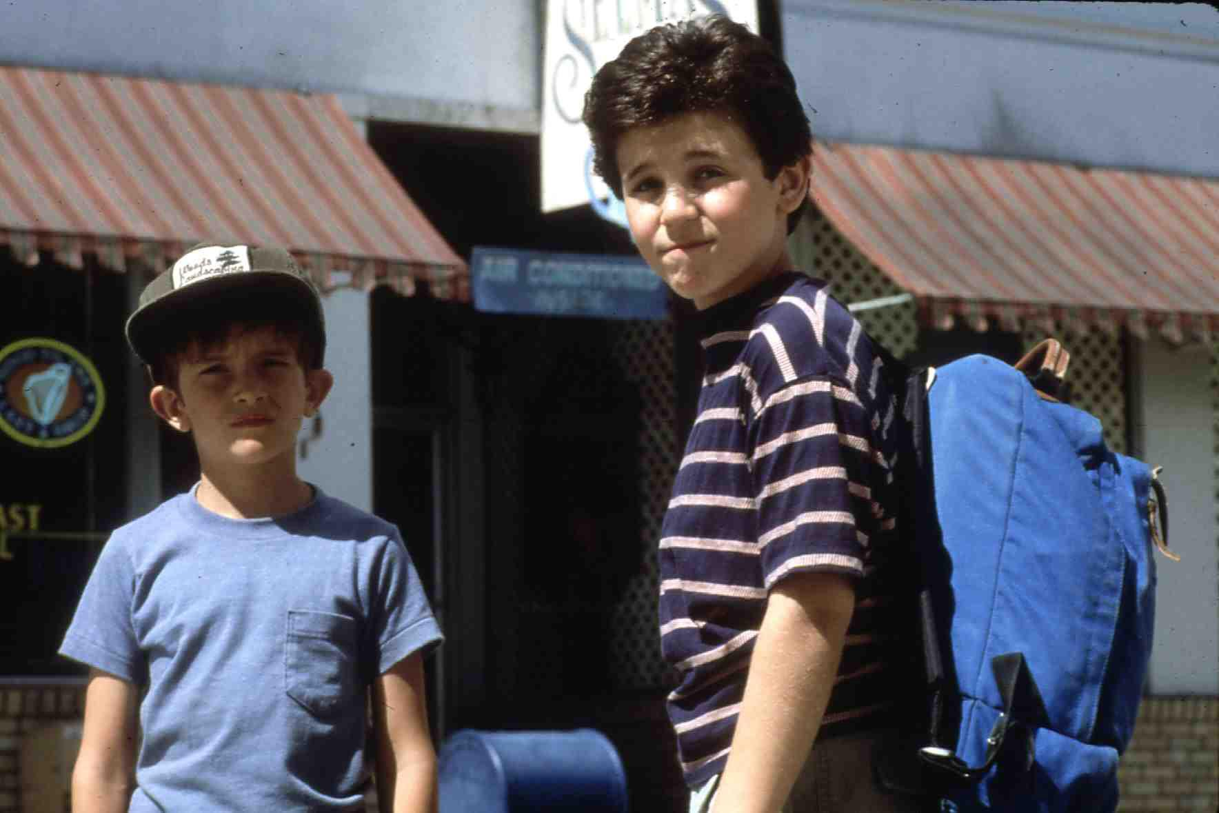 Wizard, The  (1989) Luke Edwards, Fred Savage Corey (F. Savage) will seinem Halbbruder Jimmy (L. Edwards, l) seinen Herzenswu