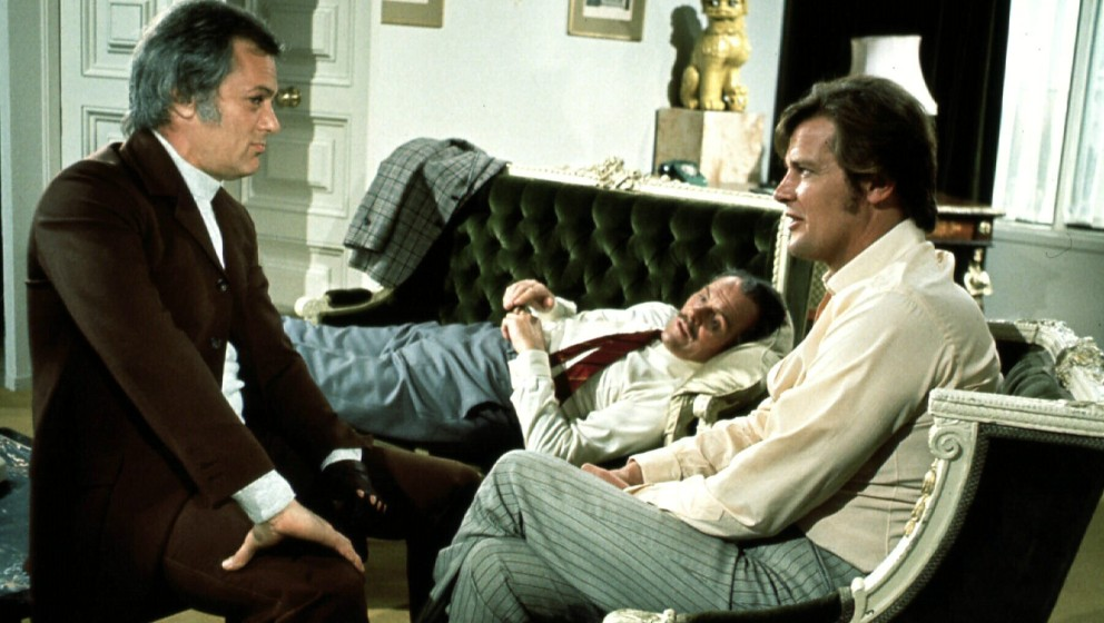 Persuaders, The  (1971) Tony Curtis, ?, Roger Moore Danny Wilde (Tony Curtis), Lord Brett Sinclair (Roger Moore) Regie: - - -
