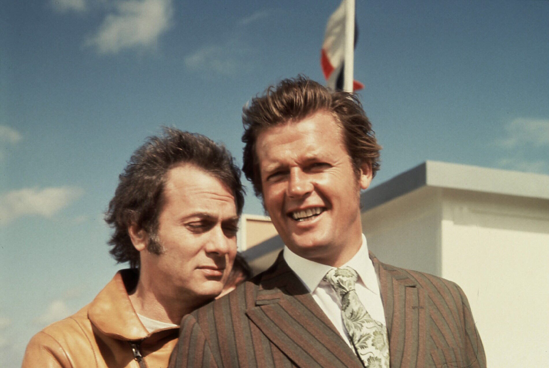 Persuaders, The  (1971) Tony Curtis,  Roger Moore Danny Wilde (Tony Curtis), Lord Brett Sinclair (Roger Moore) Regie: - - - ,
