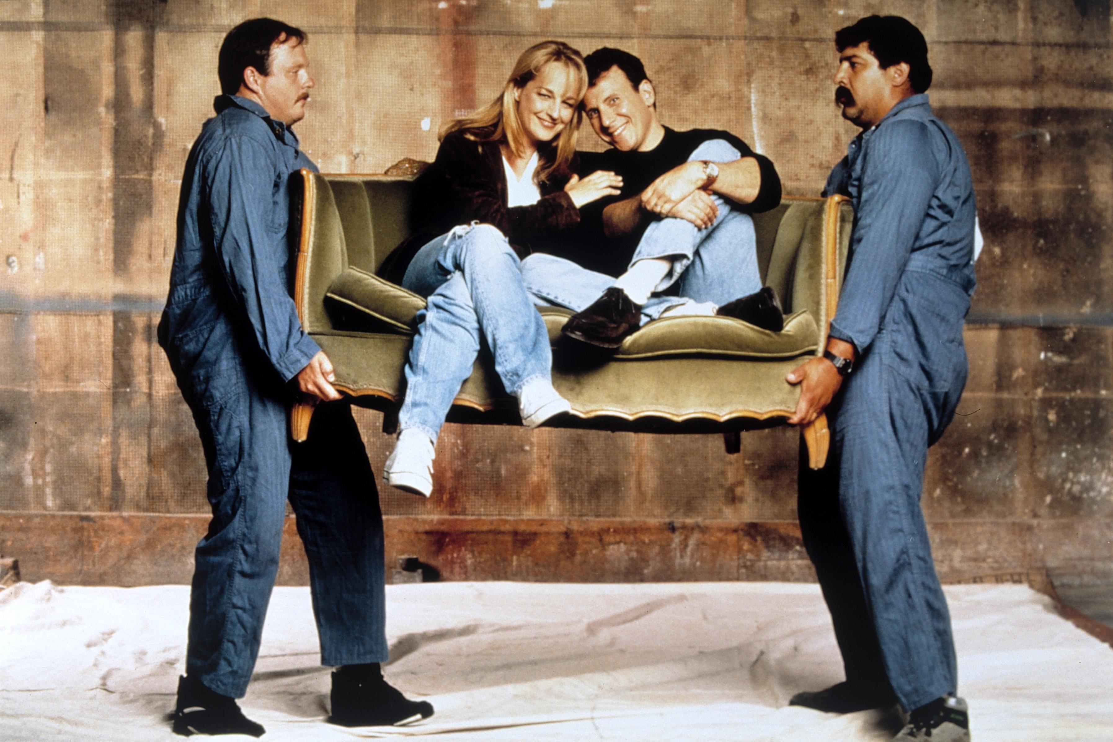 Szene mit  Jamie Buchman (HELEN HUNT) und Paul (PAUL REISER).