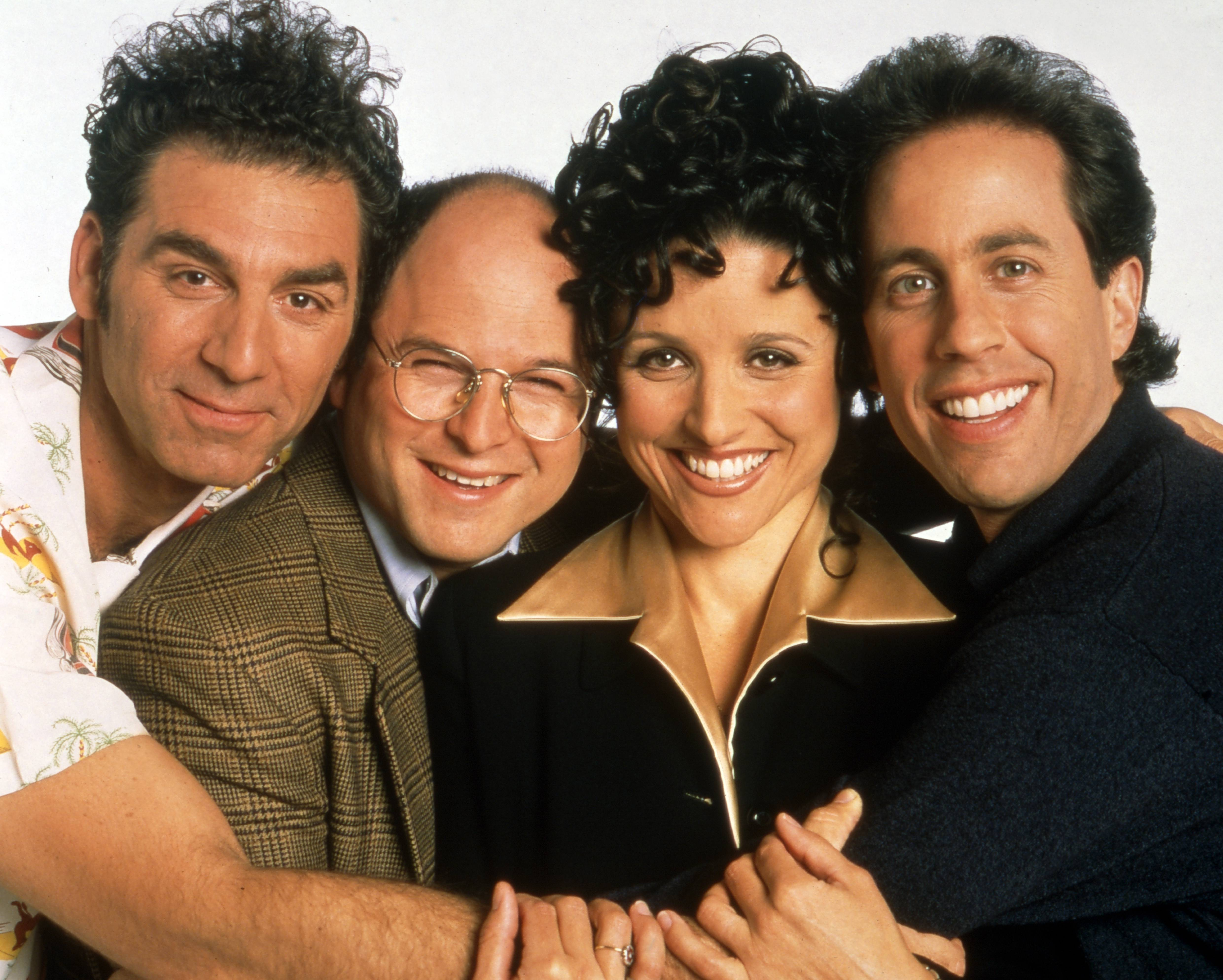 Seinfeld, USA 1990 - 1998, TV Comedy Serie, Darsteller: Jerry Seinfeld, Julia Louis Dreyfus, Jason Alexander, Michael Richard