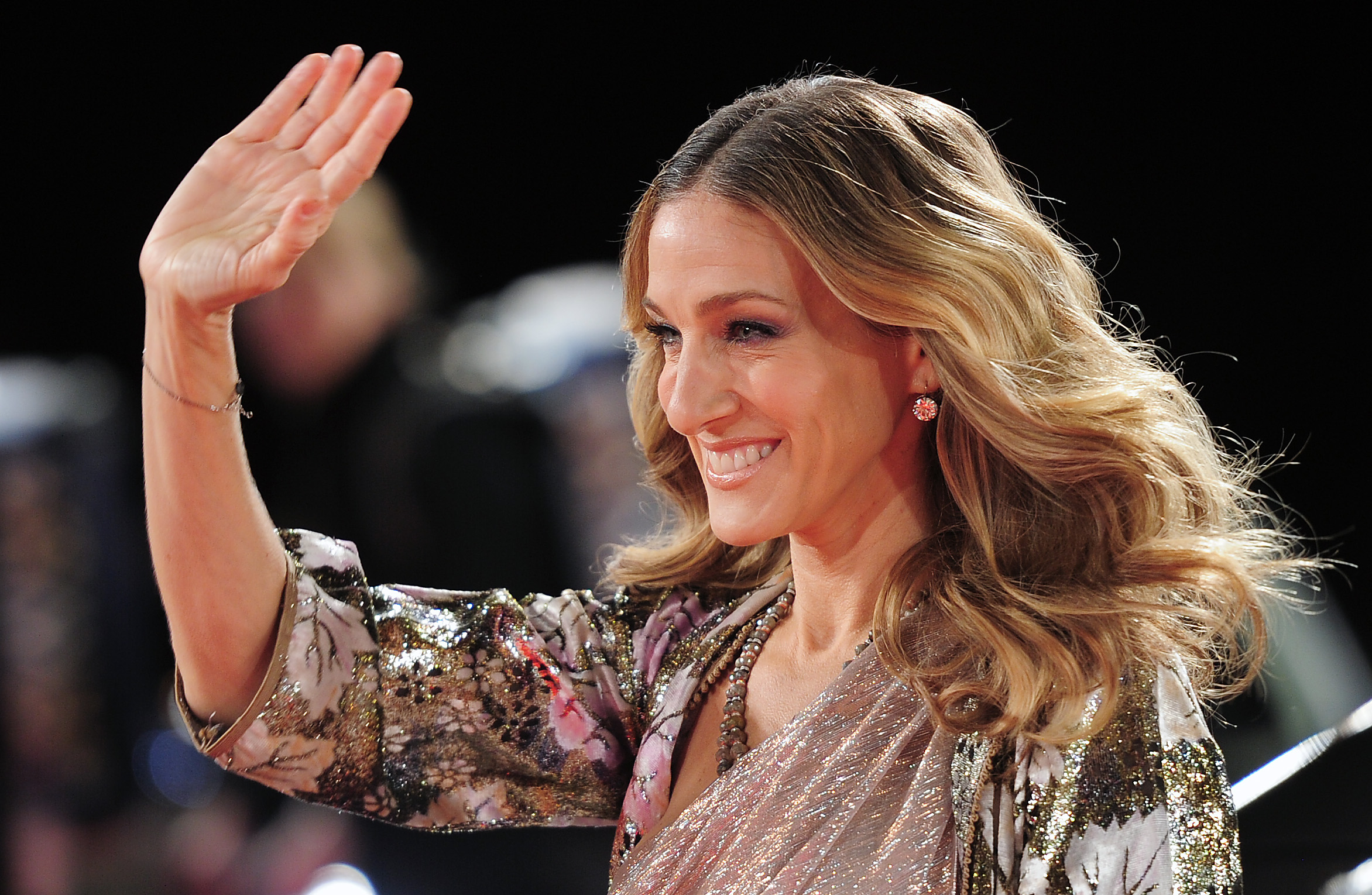 (FILE) US actress and show host Sarah Jessica Parker arrives for the Bambi award in Potsdam, Germany, 11 November 2010. The B