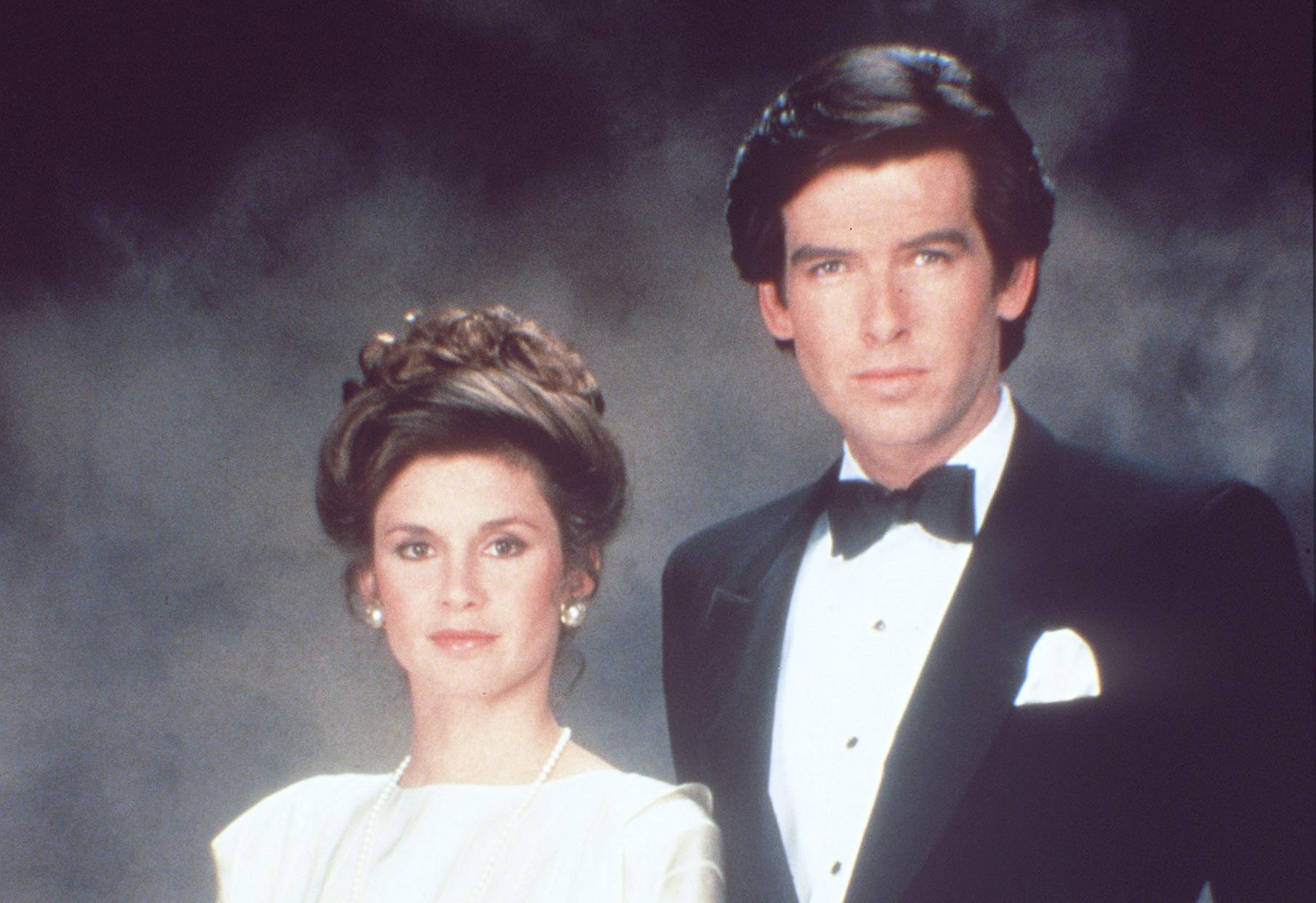 Pierce Brosnan hat in 'Remington Steele' (1982-1987) aussichtsreich um den Titel des bestgekleideten Detektivs in der Geschic