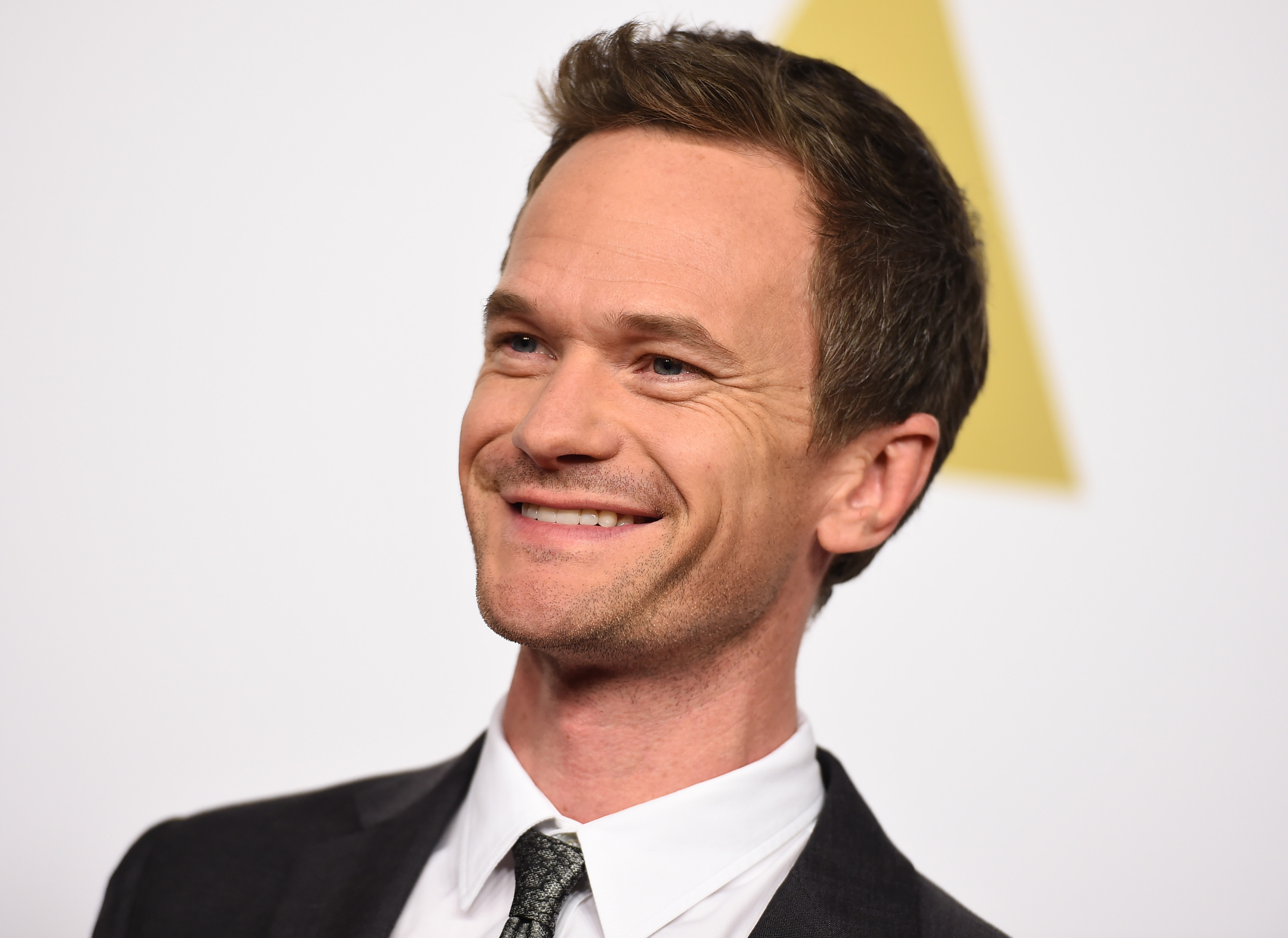 Neil Patrick Harris arrives at the 87th Academy Awards nominees luncheon at the Beverly Hilton Hotel on Monday, Feb. 2, 2015,