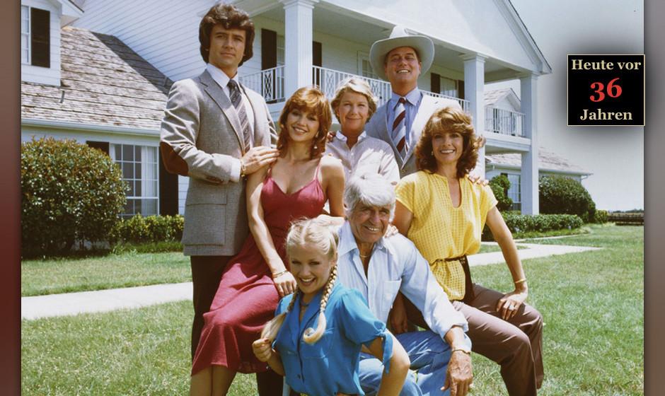 2. J.R. Ewing - Dallas (Larry Hagman)  Er war für ein Jahrzehnt die berühmteste Fernsehgestalt der Welt – und die Frage,