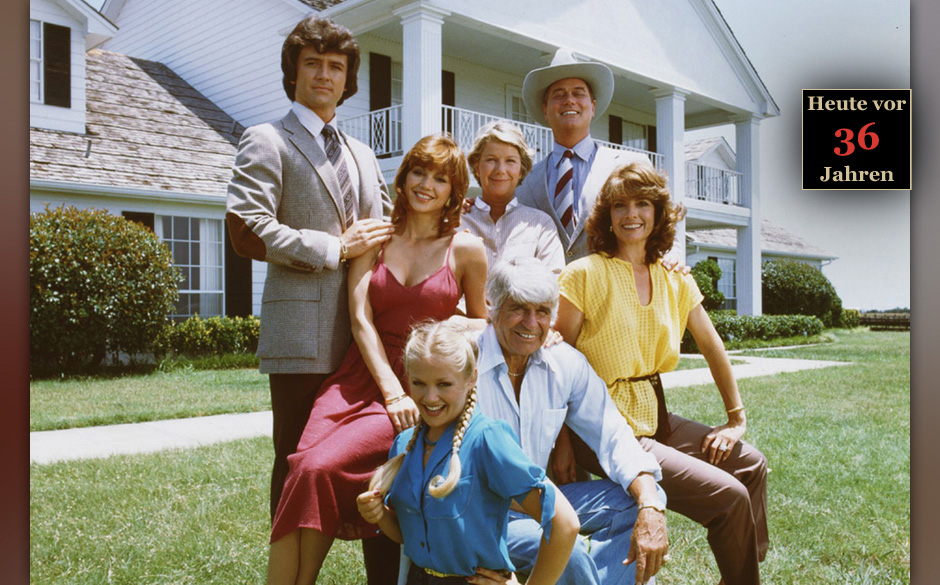 2. J.R. Ewing - Dallas (Larry Hagman)