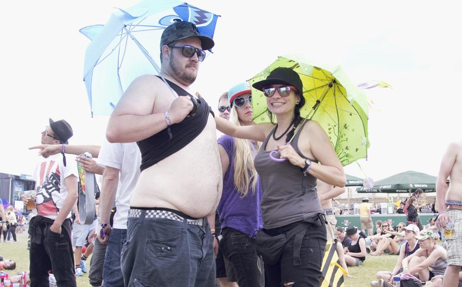 Die Fans vom Southside 2013