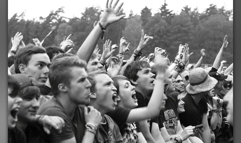 Die Fans von Billy Talent.
