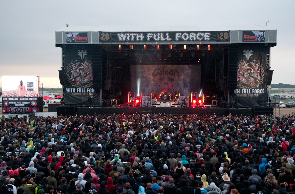 Caliban live, With Full Force 2013