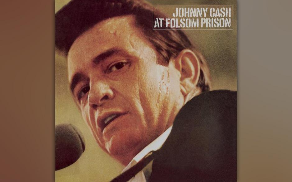 3. Johnny Cash - At Folsom Prison (1968)  Seit 1957 trat Johnny Cash regelmäßig in Gefängnissen auf. Im Januar 1968 setzte