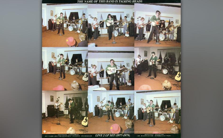 20. Talking Heads - The Name Of The Band Is Talking Heads (1982)  Als dieses Doppelalbum erschien, waren die Talking Heads di