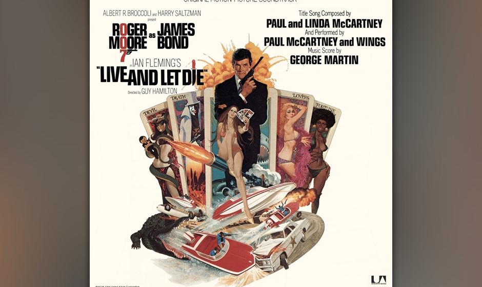 8. Live And Let Die (Single, 1973).  Der erste Bond-Song, der nicht von einer Frau gesungen wurde, weil McCartney den großen