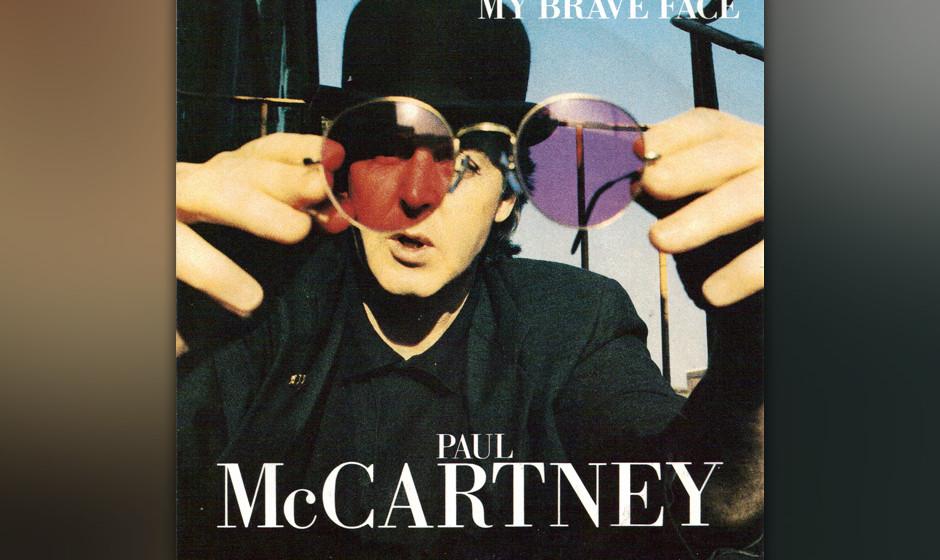 40. My Brave Face (Auf 'Flowers In The Dirt', 1989). Noch eine Co-Komposition von McCartney und MacManus (so der bürgerliche