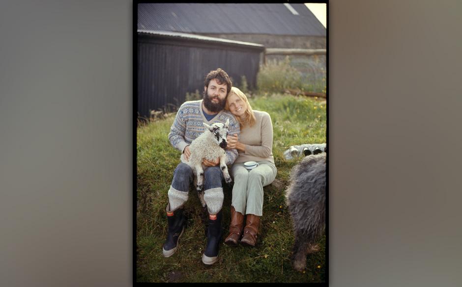 """36. I Am Your Singer (Auf """"Wings Wild Life"""", 1971). Ein wundervolles Duett der McCartneys. Die Liebe, die Flöten, das La"""
