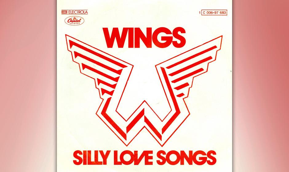 """1. Silly Love Songs (Auf """"Wings At The Speed Of Sound"""", 1976) Mitte der Siebziger bewegte McCartney sich jenseits aller R"""