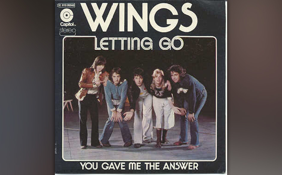 """65. Letting Go (Auf """"Venus And Mars"""", 1975) Kein Liebeslied, eher eines über eine Obsession. Das Arrangement aus harten"""