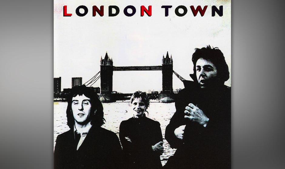 """70. With A Little Luck (Auf """"London Town"""", 1978). Die Synthesizer flirren, die Melodie ist fast zu simpel, der Text ist e"""