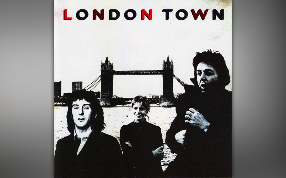 """67. With A Little Luck (Auf """"London Town"""", 1978).Die Synthesizer flirren, die Melodie ist fast zu simpel, der Text ist ei"""