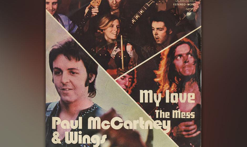 """68. My Love (Auf """"Red Rose Speedway"""", 1973) Die ersten drei Alben, die McCartney nach dem Ende der Beatles veröffentlich"""