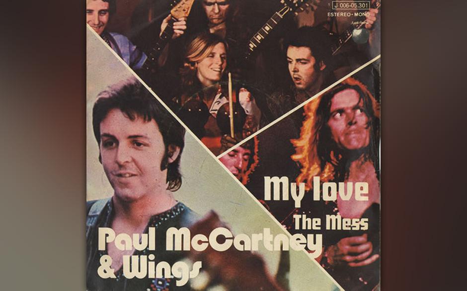 """71. My Love (Auf """"Red Rose Speedway"""", 1973) Die ersten drei Alben, die McCartney nach dem Ende der Beatles veröffentlich"""