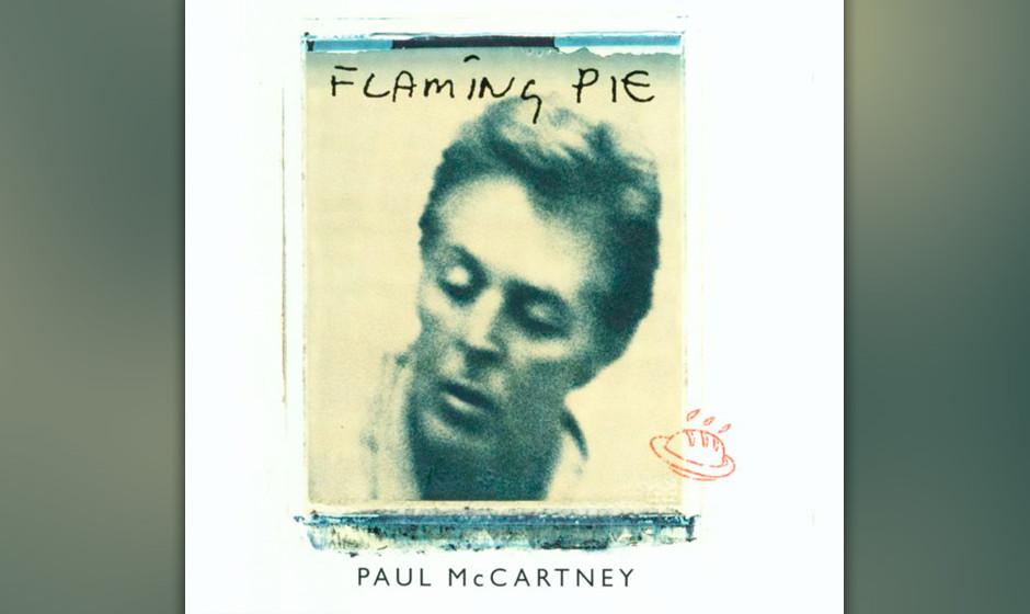 """22. Calico Skies (Auf """"Flaming Pie"""", 1997). McCartney schrieb diesen virtuosen Folksong 1991 auf Long Island, während si"""