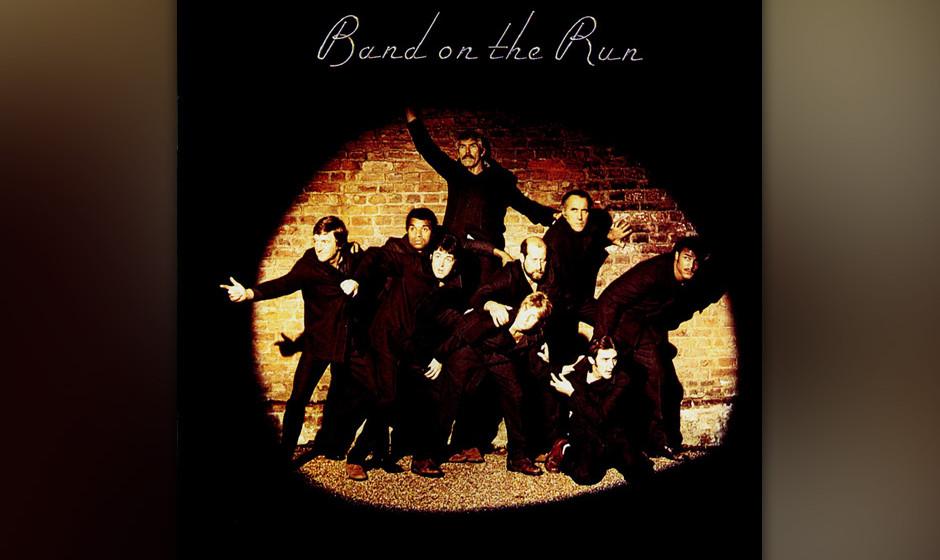 """10. Let Me Roll It  (Auf """"Band On The Run"""", 1973).  Das Riff und das Echo auf der Stimme – man fühlt sich ein bisschen"""