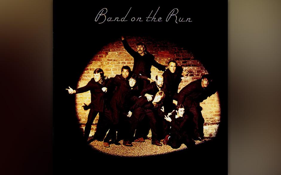 """4. Band On The Run (Auf """"Band On The Run"""", 1973). Die Fab Four hatten McCartney auch 1973 noch nicht losgelassen. George"""