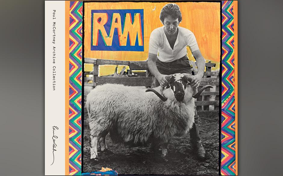 """12. The Backseat Of My Car (Auf """"Ram"""", 1970). McCartney schaute im Studio vorbei, als Brian Wilson mit den Beach Boys """""""