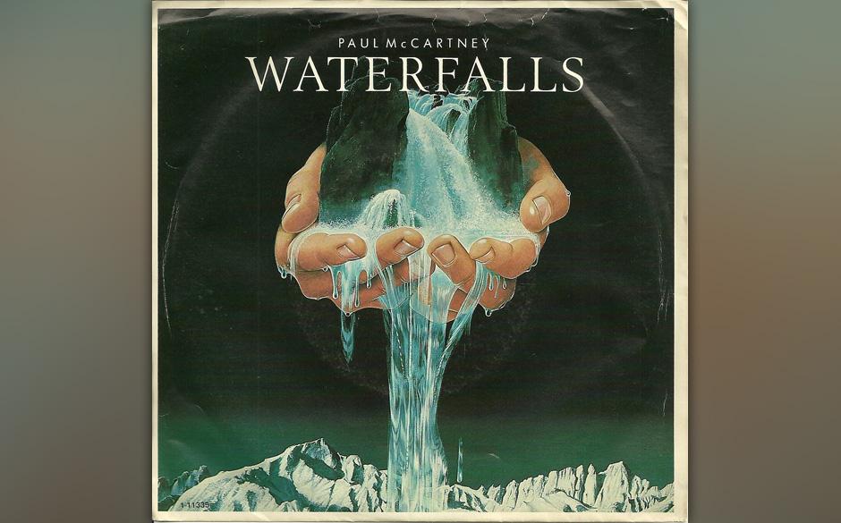 """54. Waterfalls (Auf """"McCartney II""""). Eigentlich wollte er nur ein bisschen Spaß im eigenen Studio haben und keine Songs"""