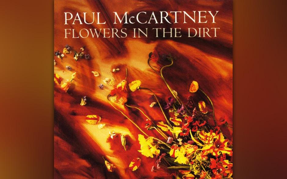 """23. Distractions (Auf """"Flowers In The Dirt"""", 1989). Es klingt wie bester McCartney, aber eine Ballade von solcher Eleganz"""