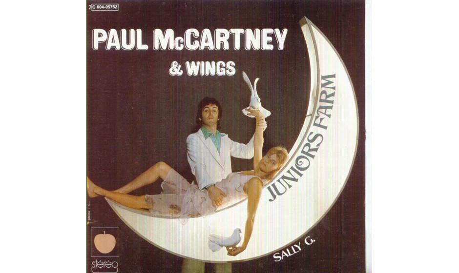 """31. Sally G (Single, 1974). In Nashville nahm McCartney die Single auf, die nach """"Band On The Run"""" die Wartezeit  zum nä"""