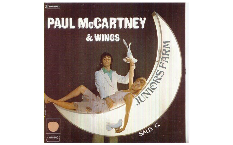 """30. Sally G (Single, 1974). In Nashville nahm McCartney die Single auf, die nach """"Band On The Run"""" die Wartezeit  zum nä"""