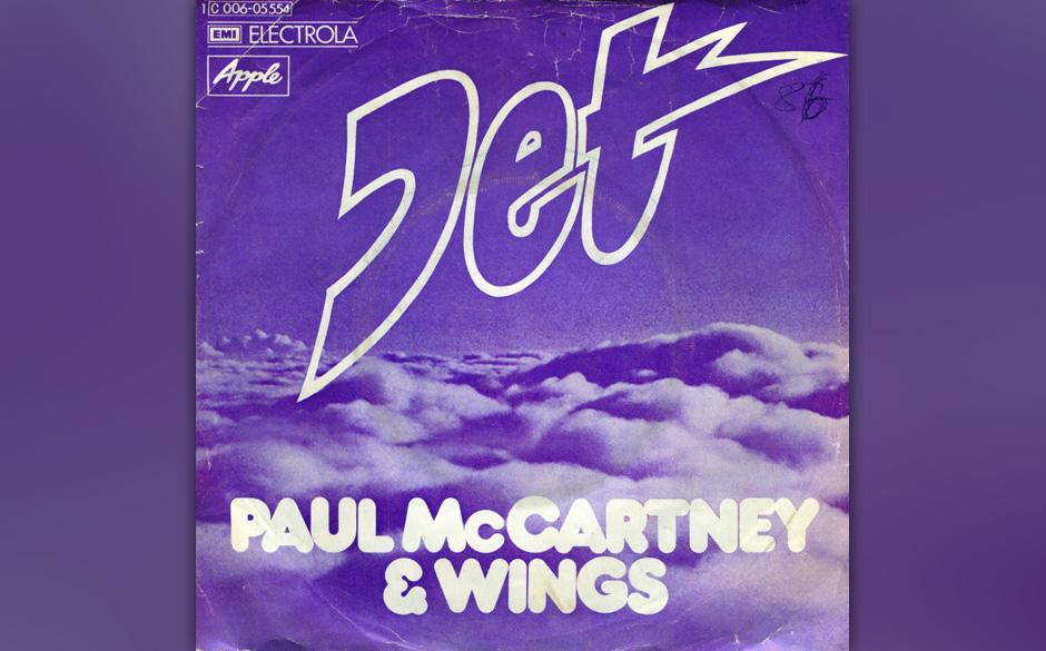 """15. Jet (Auf """"Band On The Run"""", 1973). Der Song soll entstanden sein, als McCartney den Hunden auf seiner Farm in Schottl"""