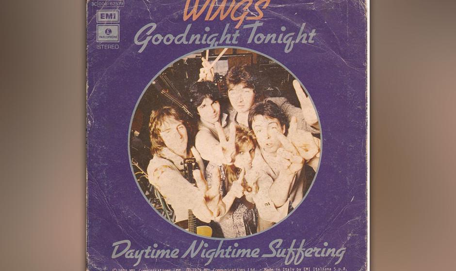 """27. Daytime Nighttime Suffering (Auf der B-Seite von """"Goodnight Tonight"""", 1979). Die letzten großen drei Minuten der Win"""