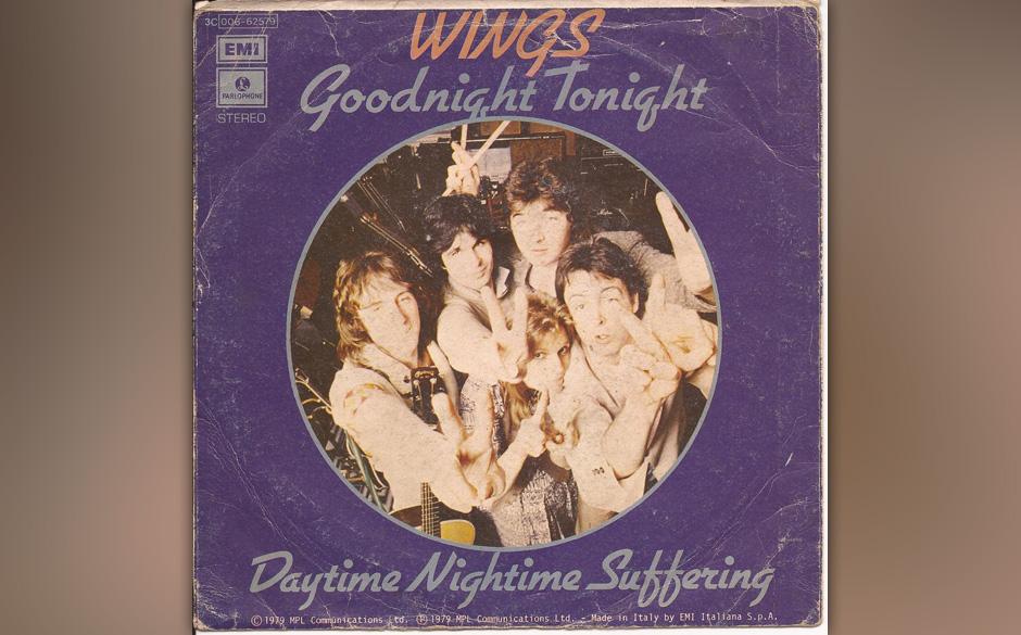 """26. Daytime Nighttime Suffering (Auf der B-Seite von """"Goodnight Tonight"""", 1979). Die letzten großen drei Minuten der Win"""