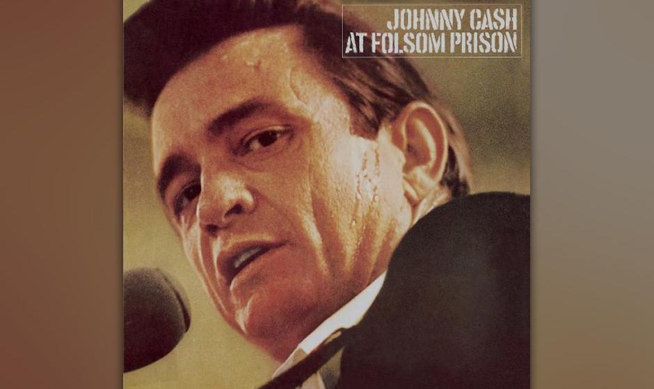 "Johnny Cash - Cover von ""At Folsom Prison"""