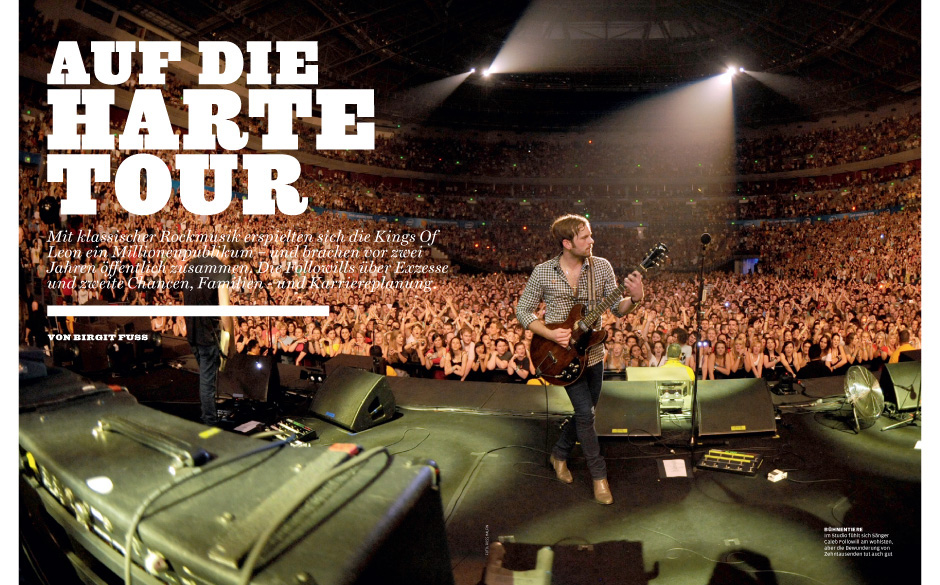 KIngs Of Leon: 'Auf die harte Tour'